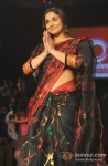 Vidya Balan attend Lakme Fashion Week 2013 Day 4