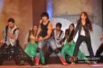 Vidyut Jamwal And Pooja Chopra performs stunts at 'Commando' music launch Pic 2