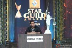 Salman Khan on the sets of Renault Star Guild Awards 2013