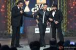 Boman Irani, Salman Khan and Arshad Warsi on the sets of Renault Star Guild Awards 2013 Pic 2