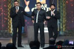 Boman Irani, Salman Khan and Arshad Warsi on the sets of Renault Star Guild Awards 2013 Pic 4