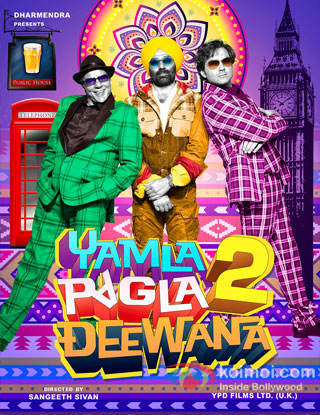 Yamla Pagla Deewana 2 Poster
