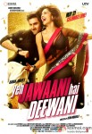 Ranbir Kapoor and Deepika Padukone starrer Yeh Jawaani Hai Deewani Movie Poster 1