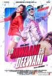 Ranbir Kapoor and Deepika Padukone starrer Yeh Jawaani Hai Deewani Movie Poster 2