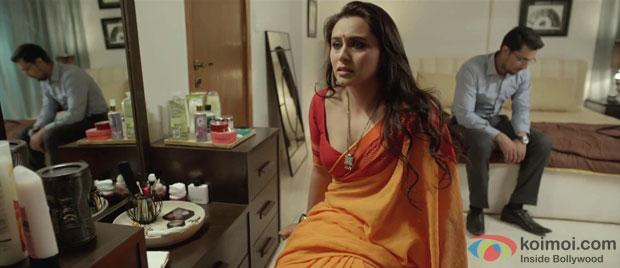 Rani Mukerji and Randeep Hooda in a still from Bombay Talkies Movie