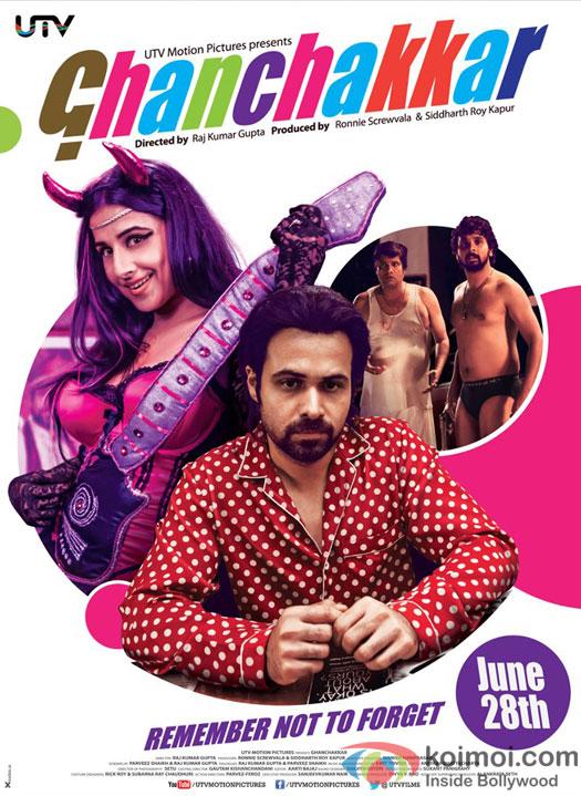 Ghanchakkar Movie First Look Poster