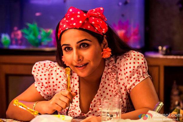 Vidya Balan in a still from Ghanchakkar Movie