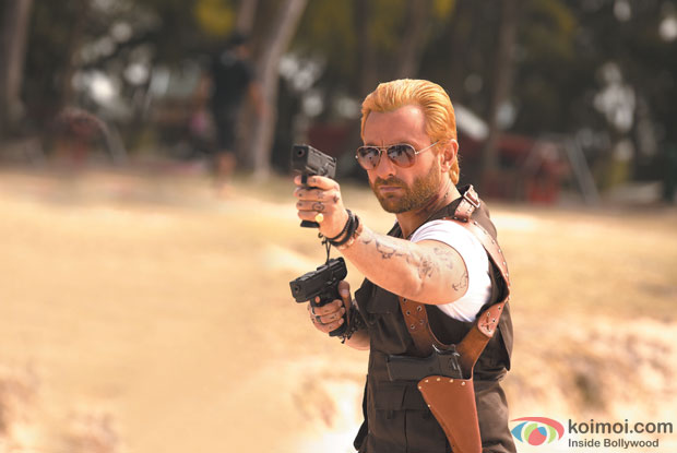Saif Ali Khan Plays a Zombie Hunter in Go Goa Gone Movie Stills