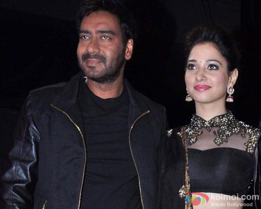 Ajay Devgn and Tamannaah