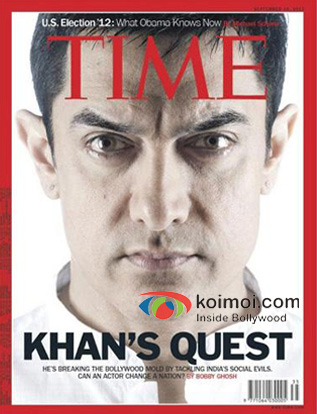 Aamir Khan on TIME Cover (2012)