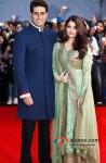 Abhishek Bachchan And Aishwarya Rai Bachchan walk the red carpet of TOIFA 2013