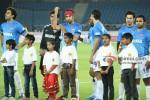 Abhishek Bachchan, Ranbir Kapoor, Varun Dhawan, Sachiin Joshi Play Football
