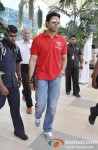 Abhishek Bachchan Return From 'Delhi Charity Match' Pic 1
