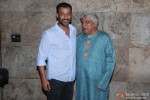 Abhishek Kapoor and Javed Akhtar attend 'Bombay Talkies' Special Screening