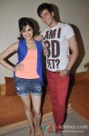 Adah Sharma And Dev Goel At 'Hum Hai Raahi Car Ke' Movie Promotion in Mumbai Pic 2
