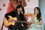 Aditya Roy Kapur And Shraddha Kapoor At Aashiqui 2 Music Launch