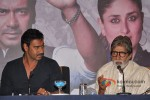 Ajay Devgan And Amitabh Bachchan at press conference of Satyagraha movie in Bhopal