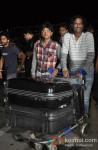 Ajay Gogavale And Atul Gogavale Leave For TOIFA 2013