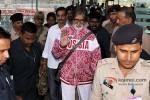 Amitabh Bachchan snapped at Bhopal Airport