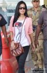 Amrita Rao snapped at Bhopal Airport