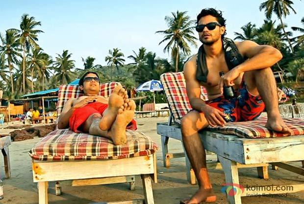 Anand Tiwari And Kunal Khemu In Go goa Gone Movie Stills