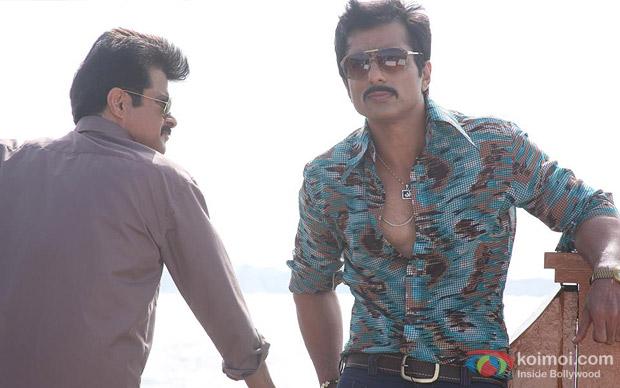Anil Kapoor And Sonu Sood in Shootout At Wadala Movie Stills