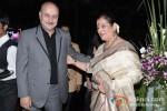 Anupam Kher And Poonam Sinha At Subrata Roy's Party to Celebrate Sridevi's Padma Shri Award