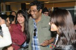 Anurag Basu arrive in Vancouver for TOIFA 2013