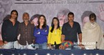 Arjun Rampal, Prakash Jha, Kareena Kapoor, Amrita Rao, Ajay Devgan And Amitabh Bachchan at press conference of Satyagraha movie in Bhopal