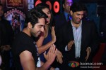 Ayushmann Khurrana, Gaelyn Mendonca, Kunaal Roy Kapur, At Nautanki Saala Movie Premiere in Dubai