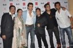 Bharat & Dorris Godambe, Hrithik Roshan, Bahadur and Suraj Godambe at Bharat-N-Dorris Hair & Make-up Awards 2013