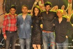 Bhushan Kumar, Mohit Suri, Shraddha Kapoor, Aditya Roy Kapur And Mahesh Bhatt A musical time at Aashiqui 2 Music Concert Pic 1