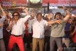 Bobby Deol Dharmendra and Sunny Deol in Yamla Pagla Deewana 2 Movie Stills