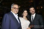 Boney Kapoor And Anil Kapoor At Subrata Roy's Party to Celebrate Sridevi's Padma Shri Award
