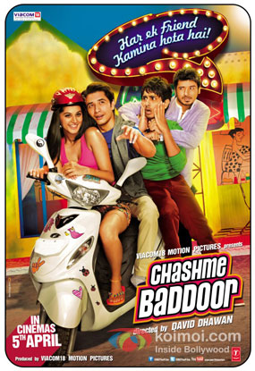 Chashme Baddoor Review (Chashme Baddoor Movie Poster)