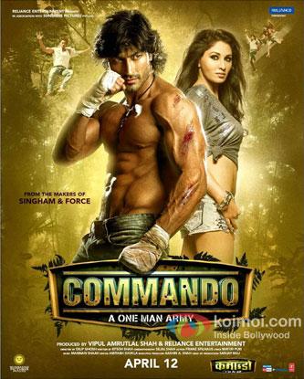 Commando Review (Commando Movie Poster)