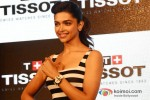 Deepika Padukone at the launch of new 'Tissot' Watches Pic 1