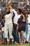 Deepika Paduone And Shah Rukh Khan at IPL Match - KKR vs Delhi Daredevils
