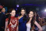 Evelyn Sharma, Gaelyn Mendonca, Pooja Salvi At Nautanki Saala Movie Premiere in Dubai