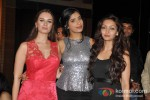 Evelyn Sharma,Gaelyn Mendoncai And Pooja Salvi At Music Success Bash of 'Nautanki Saala'