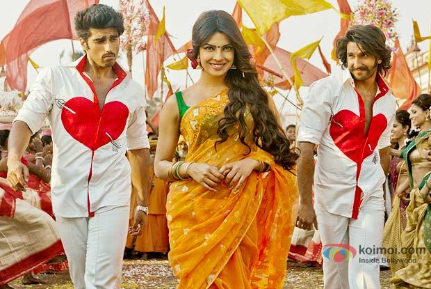 Arjun Kapoor,Priyanka Chopra And Ranveer Singh