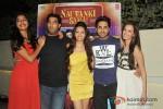 Gaelyn Mendonca, Kunaal Roy Kapur, Pooja Salvi, Ayushmann Khurrana And Evelyn Sharma At 'Nautanki Saala' Success Bash
