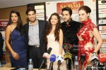Gaelyn Mendonca, Kunaal Roy Kapur, Pooja Salvi, Ayushmann Khurrana And Evelyn Sharma At Nautanki Saala Movie Premiere in Dubai