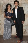 Gauri Shinde and Karan Johar attend 'Bombay Talkies' Special Screening