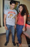 Gurmeet Choudhary and Debina Bonnerjee at Special Screening of Film 'Shree'