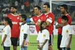 Harbhajan Singh, Mahendra Singh Dhoni And Zaheer Khan Play Football