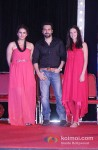 Huma Qureshi, Emraan Hashmi And Kalki Koechlin Promote Ek Thi Daayan Movie in Mumbai Pic 1