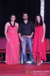 Huma Qureshi, Emraan Hashmi And Kalki Koechlin Promote Ek Thi Daayan Movie in Mumbai Pic 2