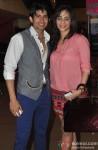 Hussain Kuwajerwala and Tina Kuwajerwala at Special Screening of Film 'Shree'