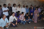 Imran Khan, Faisal Khan, Aamir Khan, Raj Zutshi, Mansoor Khan and Alka Yagnik at special screening of 'Qayamat Se Qayamat Tak'